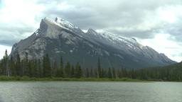 HD2008-6-6-55 Banff mt rundle Stock Video Footage