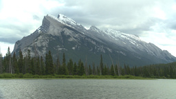 HD2008-6-6-57 Banff mt rundle Stock Video Footage