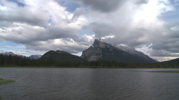HD2008-6-6-59 Banff mt rundle Footage