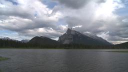 HD2008-6-6-59 Banff mt rundle Footage