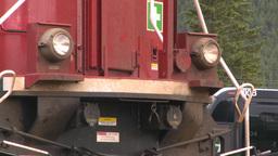 HD2008-6-6-69 deisel loco Stock Video Footage