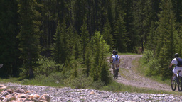 HD2008-6-9-10 mtn bike Stock Video Footage