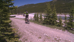 HD2008-6-9-30 mtn bike Stock Video Footage
