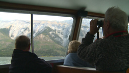 HD2008-10-1-30 lake boat ships tourists Footage