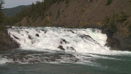 HD2008-10-2-7 Bow falls Stock Video Footage