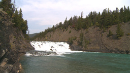 HD2008-10-2-9 Bow falls Stock Video Footage