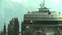 HD2008-10-2-31 top, Sulfur mtn gondola stn Stock Video Footage