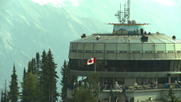 HD2008-10-2-31 top, Sulfur mtn gondola stn Stock Video Footage