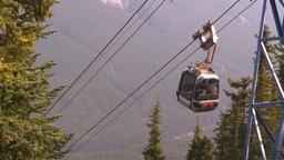 HD2008-10-2-33 top, gondola car leaves Footage