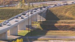 HD2008-10-2-39 rush hour traffic TL blur Footage