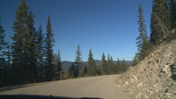 HD2008-10-3-12 drive on mtn road Stock Video Footage