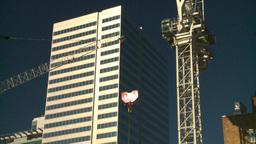 HD2008-10-4-7 construction crane Stock Video Footage