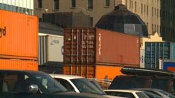 HD2008-10-4-11 intermodal train Stock Video Footage