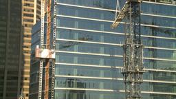 HD2008-10-4-15 construction crane const elevator Footage