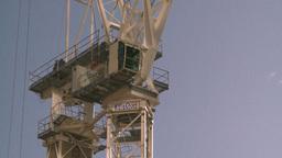 HD2008-10-4-19 construction crane Stock Video Footage