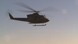 HD2008-10-11-6 heli lift off Stock Video Footage
