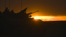 HD2008-10-11-12 silou LAV sunset Stock Video Footage