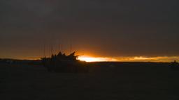 HD2008-10-11-14 silou LAV sunset Stock Video Footage