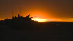HD2008-10-11-16 silou LAV sunset Stock Video Footage