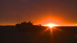 HD2008-10-11-18 silou LAV sunset Stock Video Footage