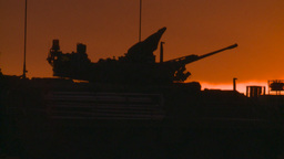 HD2008-10-11-24 silou LAV sunset Stock Video Footage