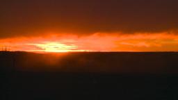HD2008-10-11-26 silou gwagon sunset Stock Video Footage