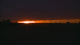 HD2008-10-11-28 silou LAV sunset Stock Video Footage