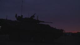 HD2008-10-11-36 silou LAV sunset Stock Video Footage