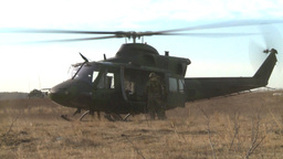 HD2008-10-16-8 helo idleing Stock Video Footage