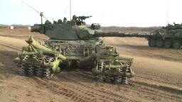 HD2008-10-16-12 leo tank and mine sweep Footage