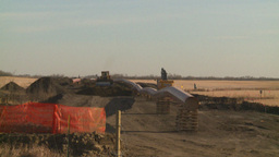 HD2008-10-17-3 pipeline const Stock Video Footage