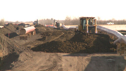HD2008-10-17-5 pipeline const Stock Video Footage