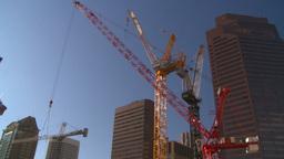 HD2008-10-17-19 constr site crane cgy Footage