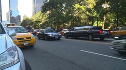 HD2008-9-1-6 NYC street scene police cars VIP Stock Video Footage
