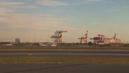 HD2008-9-1-10 int aircraft look at runway Footage