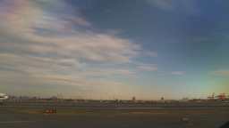 HD2008-9-1-14 int aircraft look at runway aircraft taxis thru frame Footage