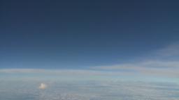 HD2008-9-1-22 aerial cloud sky Stock Video Footage