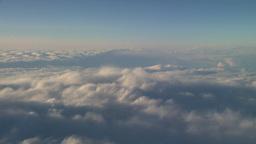 HD2008-9-1-28 aerial cloud sky Stock Video Footage