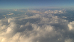 HD2008-9-1-30 aerial cloud sky Stock Video Footage