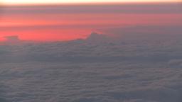 HD2008-9-1-32 aerial cloud sky Stock Video Footage
