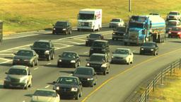 HD2008-9-2-13 Deerfoot traffic Stock Video Footage
