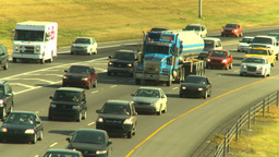 HD2008-9-2-13 Deerfoot traffic Stock Video Footage