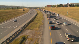 HD2008-9-2-15 Deerfoot traffic bumper to bumper Footage