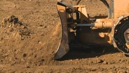 HD2008-9-3-4 caterpillar scraper Stock Video Footage