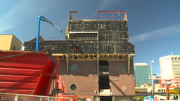 HD2008-9-3-8 remand centre demolition Stock Video Footage