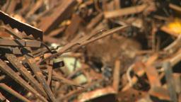 HD2008-9-3-42 metal recycler Stock Video Footage