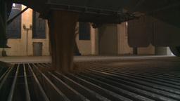 HD2008-9-3-58 grain truck unloading Footage