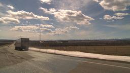 HD2009-4-1-38 semi truck Stock Video Footage