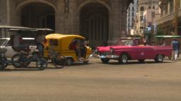 HD2009-4-3-2 Havana traffic Stock Video Footage