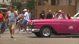 HD2009-4-3-4 Havana traffic Stock Video Footage
